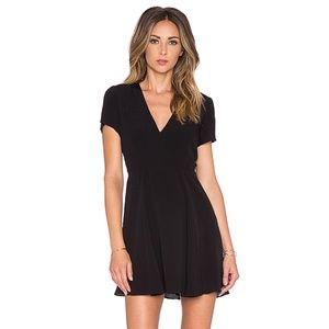 Lovers + Friends Black Cassidy Skater Dress Size S